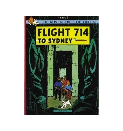 Tintin. Flight 714