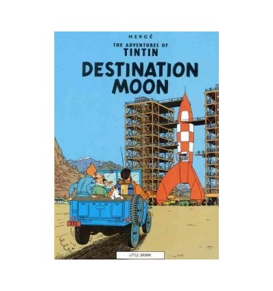Tintin. Destination Moon