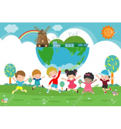 Children save the Planet