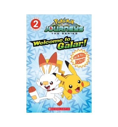 Welcome to Galar! (Pokemon Level Two Reader)